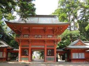 鹿島神宮桜門